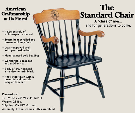 Captain 39 S Chairs Gardner Chair Graduation Chair